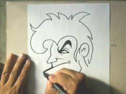 Как нарисовать человек с ирокезом в стиле граффити видео урок