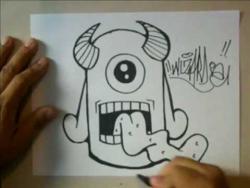 Видео рисуем клоуна