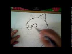 Как нарисовать кота райтера в стиле граффити видео урок