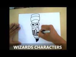 Как нарисовать маркер в стиле граффити видео урок