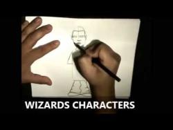 Как нарисовать маркером человека в стиле граффити видео урок