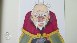 Как нарисовать Оноки из Наруто видео урок