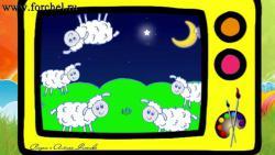 Как нарисовать овечку ребенку видео урок