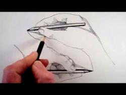 Как нарисовать рисующие руки шаг за шагом видео урок