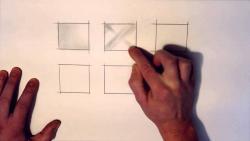 Как правильно штриховать и растушевывать видео урок