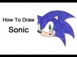 Как шаг за шагом нарисовать ежа Соника видео урок
