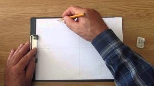 Способы деления картинной плоскости на симметричные участки видео урок