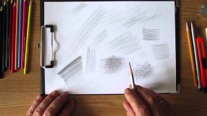 Способы штриховки карандашами видео урок