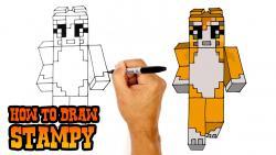 Фото Stampy из Minecraft  урок