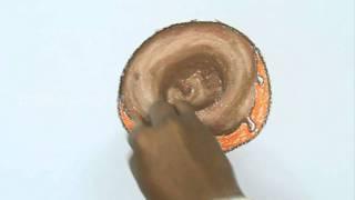 Как легко нарисовать пончик карандашом видео урок