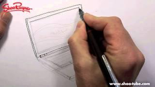 Как нарисовать ноутбук карандашом видео урок