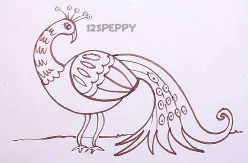 Как нарисовать леди ливнерог поэтапно