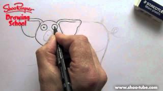 Как нарисовать Свинку ребенку карандашом видео урок
