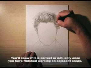 Видео урок как нарисовать волосы карандашом на бумаге