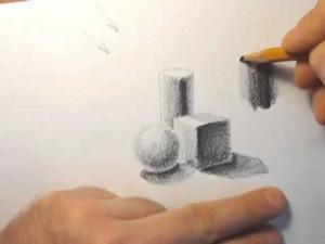 Видео урок как научиться шртиховать карандашом