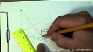 Видео урок как рисовать тень карандашом