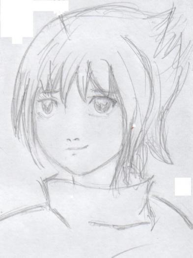 Как нарисовать поэтапно карандашом учиху