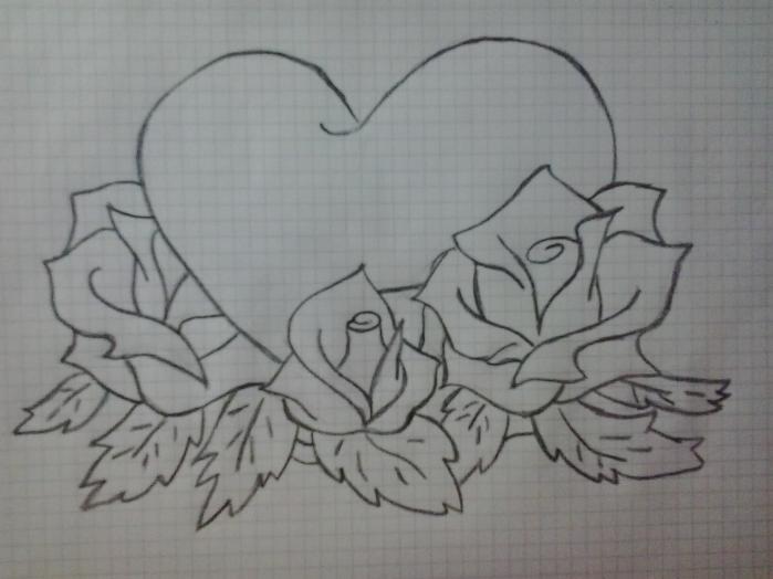 Рисунки своими руками карандашом лёгкие и красивые