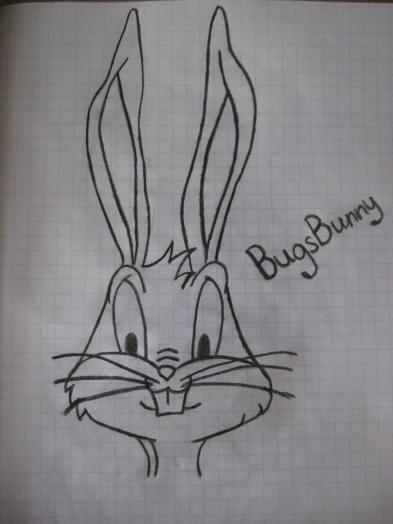 Как нарисовать багз банни bugsbunny