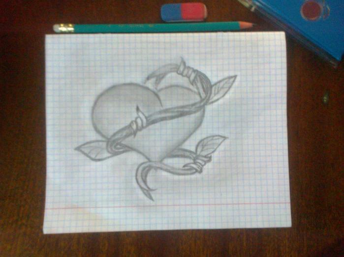 Рисунки своими руками карандашом как нарисовать