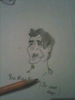 Как нарисовать яо мин лицо yao ming face