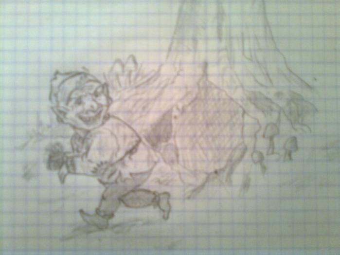 Поэтапно нарисовать минотавра карандашом поэтапно 119