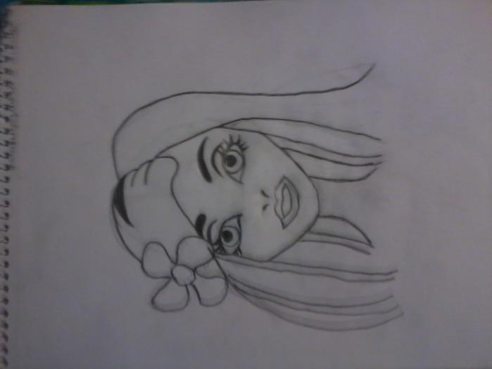 Рисунки красивые карандашом для девочек поэтапно