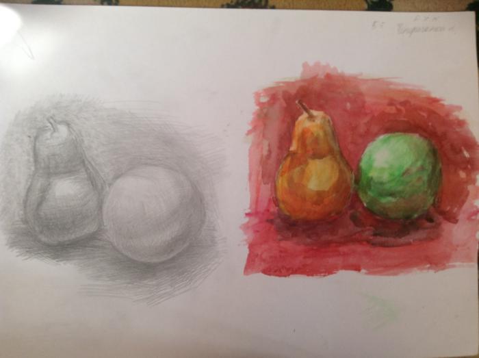 Как нарисовать осенний пейзаж