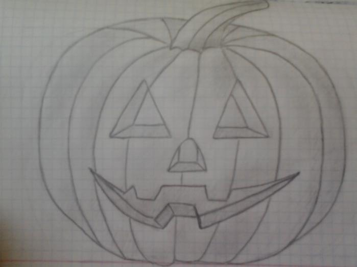 Как нарисовать хэллоуин поэтапно