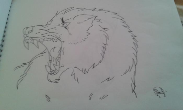 Фото Волчица к уроку