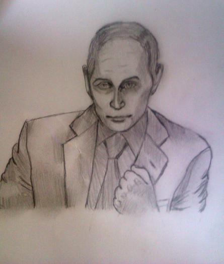 Фото В.В Путин к уроку