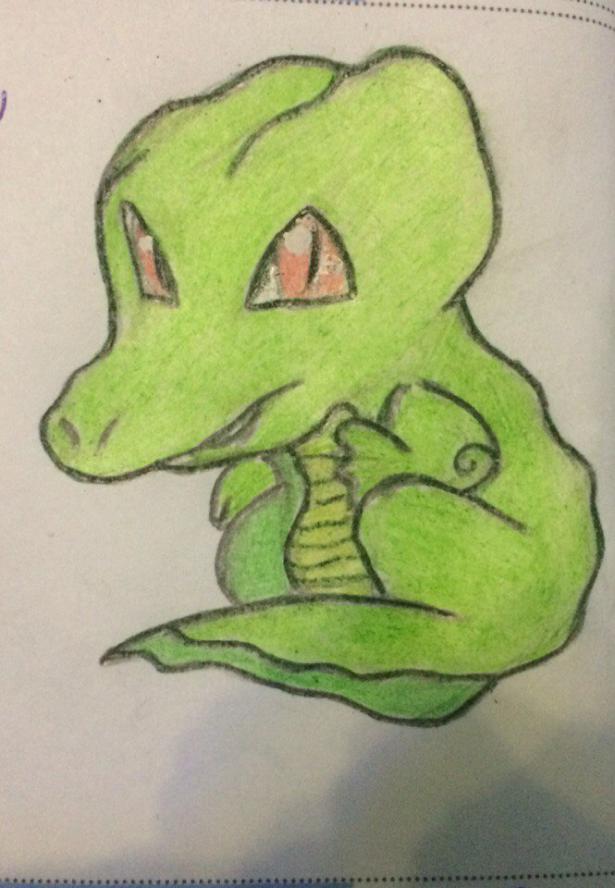 Как нарисовать крокодила ребенку