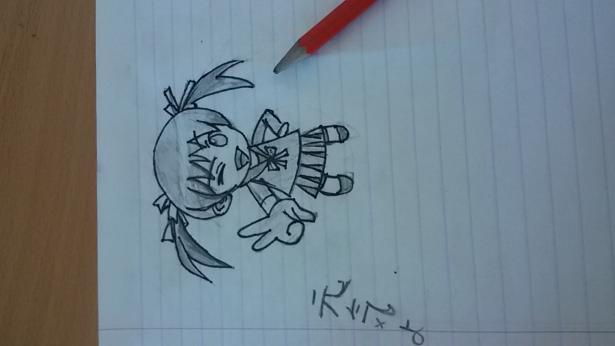 Рисунок девушки цветными карандашами для начинающих