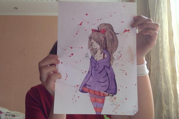Фото Drawing_Girl к уроку