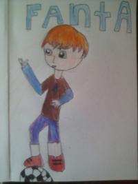 Как нарисовать чиби фанту-тян мальчика поэтапно