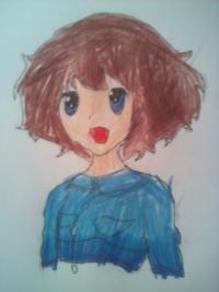 Как нарисовать собственного аниме персонажа на имя Зия (в моём случае) поэтапно