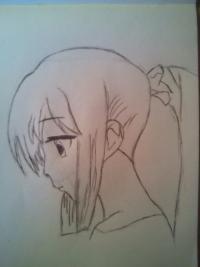 Как нарисовать портрет Хатсуне Мику из Волкалоидов поэтапно