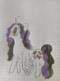 Как нарисовать пони Тею