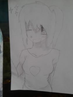 Как нарисовать девушку аниме