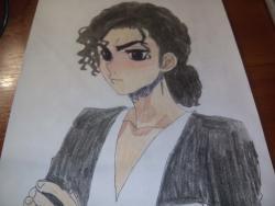 Майкл Джексон в стиле анимем