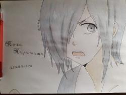 Как нарисовать Току Киришиму