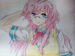 Как нарисовать Ичику Такацуки из аниме Ano Natsy de Matteru