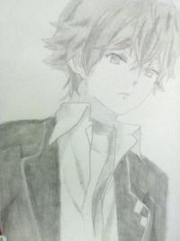Как нарисовать Аято Сакамаки из аниме Дьявольские возлюбленные