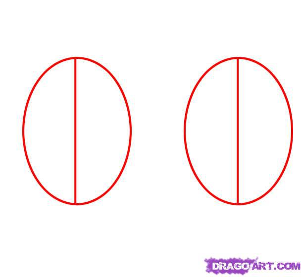 Рисуем пасхальное яйцо - шаг 1