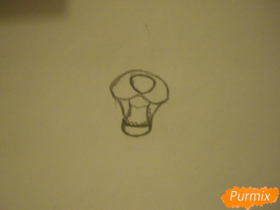 Рисуем двух серых кошечек в стиле аниме - шаг 1