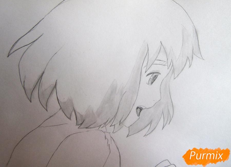 Рисуем Хаула и Софи из аниме Ходячий замок Хаула - шаг 8