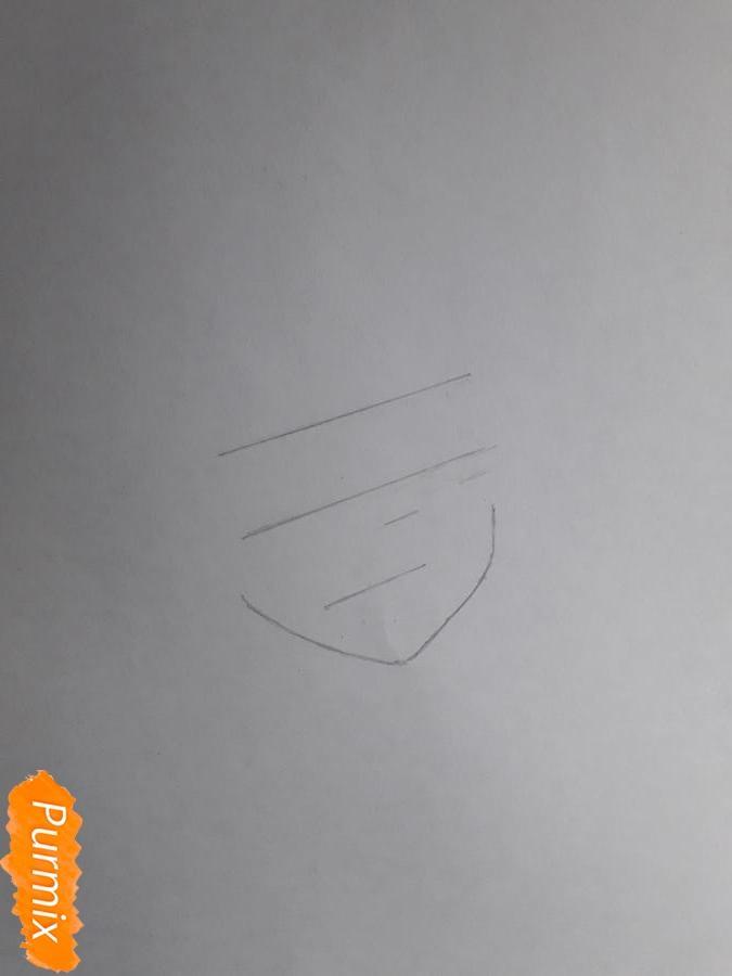Рисуем Шинозаки Рику(Лизбет) из аниме Мастера меча онлайн карандашами - шаг 1
