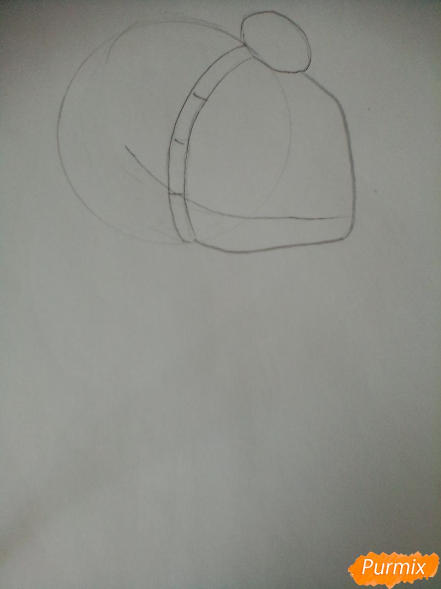 Рисуем Тадаоми Сиротани из манги До десяти - шаг 1