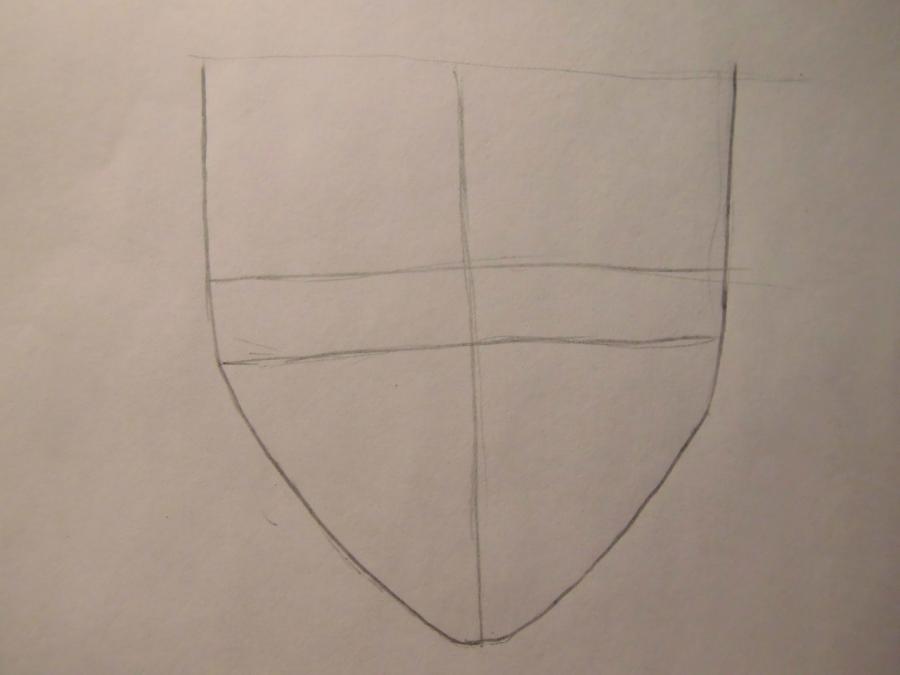 Рисуем L из Тетрадь смерти - шаг 1