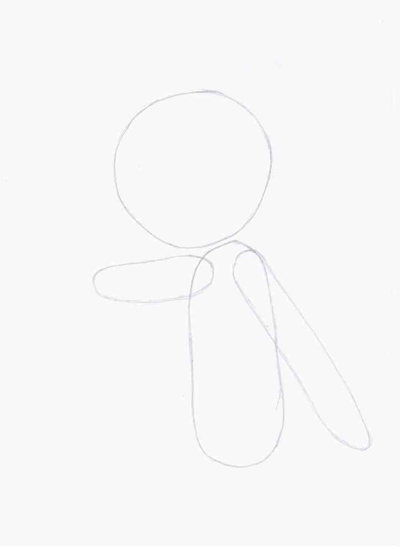 Рисуем Тору из аниме Channel A/Канал А - шаг 1